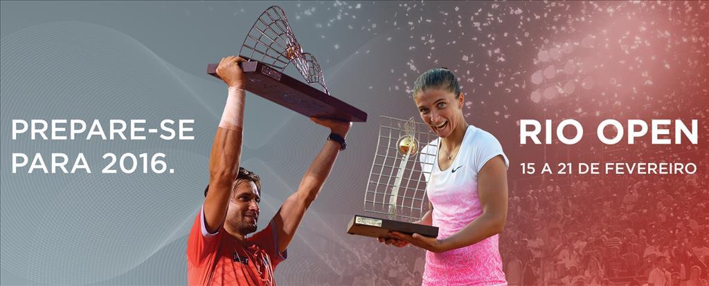 O Rio Open 2016 já tem data marcada. O maior torneio de tênis da América do Sul acontecerá de 15 a 21 de fevereiro. Prepare-se!