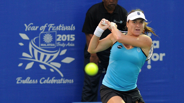 Alexandra Dulgheru reaches her first final in Malaysia