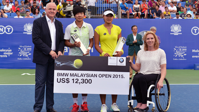 Wang and Liang triumphs in Malaysia