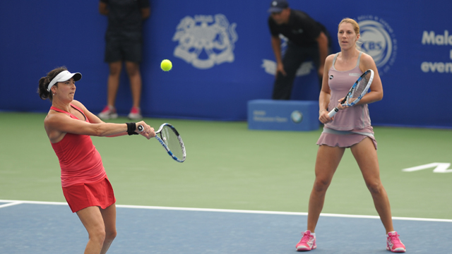 Seasoned partners Belgelzimer and Savchuk through to the Final