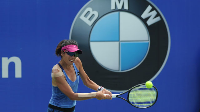 Hsieh Su-Wei in good form this year