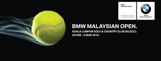 The BMW Malaysian Open Returns in 2016 at a New Venue